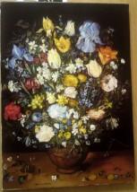 "Kopia obrazu Breugla ""Kwiaty"""