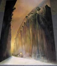 Interpretacja obrazu Z.Beksin skiego wykonana przez Andrzeja Masianisa