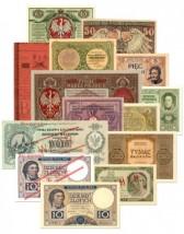 Pieniądz papierowy - banknoty polskie i świata