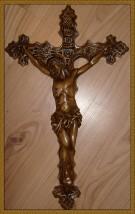 Odlew 3D Krzyż Zwykły 27x45