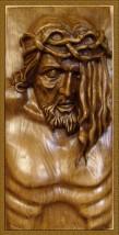 Płaskorzeźba Pan Jezus 23x50