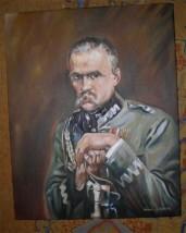 """Kopia obrazu   Wojciecha Kossaka """" Józef Piłsudski"""""""""""