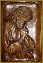 Płaskorzeźba Pan Jezus w Ogrojcu 47x32