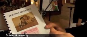 Śpiewnik Weselny ze zdjęciem, imionami i datą wesela na okładce