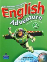 English Adventure 2 komplet sb+wb+cd