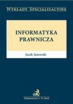 Informatyka prawnicza WYKŁADY SPECJALIZACYJNE