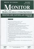 Monitor Prawa Celnego i Podatkowego czasopismo, mesięcznik