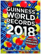 Księga Rekordów Guinnessa 2018 Guinness World Records