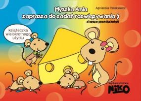Myszka Ania zaprasza do zadań rozwiązywania