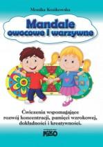 Mandale owocowe i warzywne Ćwiczenia wspomagające rozwój koncentracji.