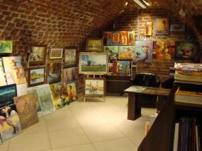 Obrazy olejne, rzeźby drewniane, pamiątki, ikonografia, pisanie ikon