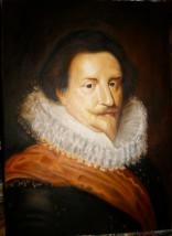 """Kopia obrazu """"Portret """" Antoona van Dycka"""