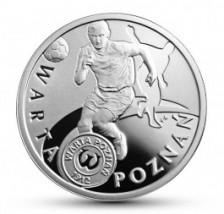 Polskie Kluby Piłkarskie: Warta Poznań, 5 zł Polskie Kluby Piłkarskie: Warta Poznań, 5 zł
