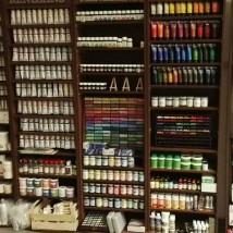 farby akrylowe olejne akwarele
