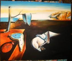 """Kopia obrazu Salwadora Dali """"Trwałość pamięci """""""