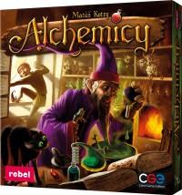 Alchemicy Strategiczna Gra Planszowa Alchemicy