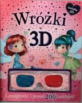Wróżki w 3D Książka z okularami